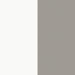 biały + szary